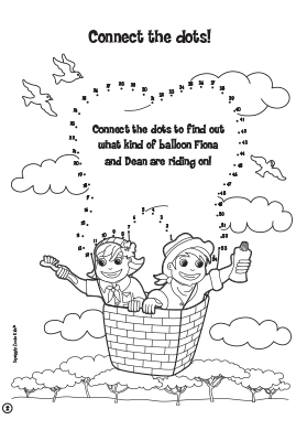 Children's Fun – Connect the dots.