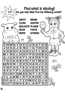 Help Heidi to find the words into Word Board Game.
